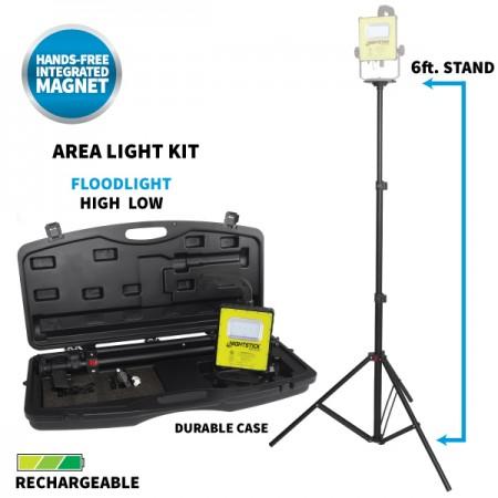 Intrinsically Safe Rechargeable LED Scene Light Kit