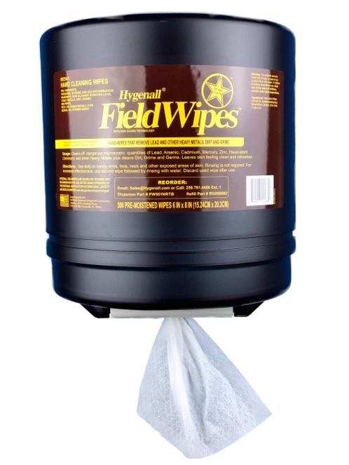 Hygenall® FieldWipes™ Refillable Wall Mount DeconStation™ Non-Rinse Wipe Dispenser